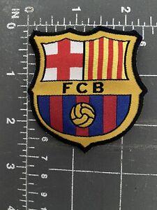 FC Barcelona Football Club F.C. Patch Shield Soccer Spain FCB La Liga Futbol