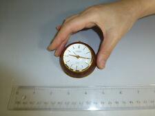 Vintage Swiss Alarm Clock Pocket Watch 15 Jewels Windup Movement (Watch Video)