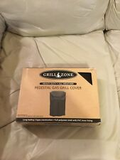 GRILL ZONE HEAVY DUTY/ALL WEATHER PEDESTAL GAS GRILL COVER (NEW)