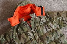 NEW! CRESCENT DOWN WORKS CAMO GREEN TAN HOODED JACKET PARKA X LARGE XL