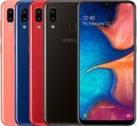 """Samsung Galaxy A20 32GB SM-A205FN/DS (FACTORY UNLOCKED) 6.4"""""""