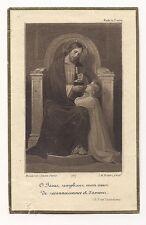 communion privée ,solennelle , 1924 ,1929 ,