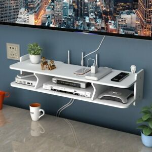 Hole Free Living Room TV Wall Set Top Box Router Storage Bedroom Wall Hanging