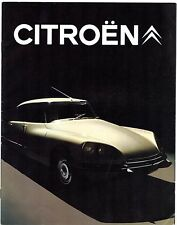 Citroen DS 1969-71 UK Market Brochure Special Super 20 21 EFi Pallas Safari