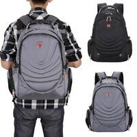 US 16' Men Backpack Notebook Laptop Shoulder School Shoulder Bag Travel Rucksack