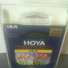 Hoya PL-CIR 58mm Circular Polarizing Filter