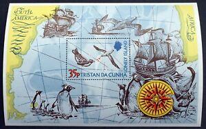 Tristan da Cunha – 1974 - Lonely Island – Minisheet - MS192 – UM (MNH) (R7)
