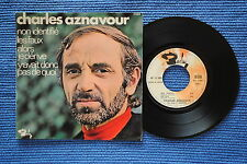 CHARLES AZNAVOUR / EP BARCLAY 71389 / VERSO 1  LABEL 1 / BIEM 1969 ( F )