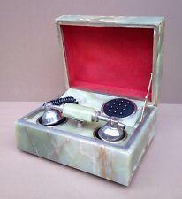 Téléphone à touches MARBRE FATAP vintage déco bureau ancienne boite phone MARBLE