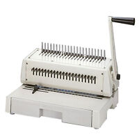New Tamerica / Tashin 210PB Plastic Comb Binding Machine - Free Shipping
