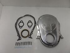 BB Chevy BBC Polish Aluminum Timing Chain Cover Generation 6 Mark VI 454