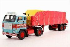 CORGI CC13107 1/50 VOLVO F88 SHEETED FLATBED TRAILER POLLOCK SCOTRANS LTD