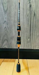 "New 1.98M (6'6"") Ultra Light Spinning Fishing Rod Great for Panfish, Trout"