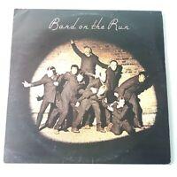 Paul McCartney - Band on the Run - Vinyl LP UK 1st Press -2/-2 EX+ Inner Poster