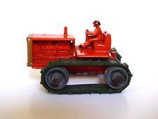 Matchbox Lesney No.8a Caterpillar Tractor (RARE ORANGE, GOLD TRIM, GREEN TRACKS)