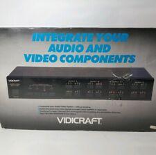 Vidicraft Pro Audio Video Switcher+1l