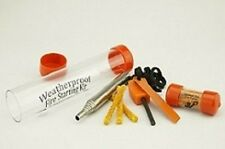EOG Weatherproof 3-Piece Fire Starting Kit Emergency Survival Camping Hunting