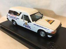 1/43 Trax Code2 TR70 1979 XD Panel Van - White, APEX 1 of 300