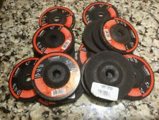 """25 PACK 4"""" x 1/4"""" x 5/8"""" METAL GRINDING WHEELS T27 DISCS FOR ANGLE GRINDERS 3152"""