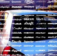 Heckscheiben Aufkleber  35 cm + 448 Motive Tuningsticker Auto Dekor Edition NEW