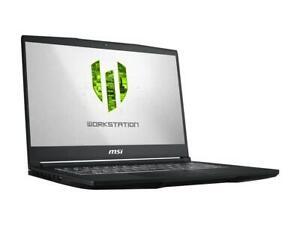 MSI WP65 9TH-263 i7- 9750H  16 GB DDR4 512GB NVMe SSD NVIDIA Quadro P620