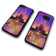 Walt Disney Castle Sunset Sunrise Mickey Mouse Phone Case Cover