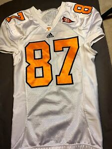 Tennessee Volunteers Game Worn Authentic Jersey #87 Used Issued Team Player Vols