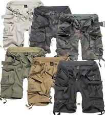 Brandit Savage Vintage Shorts Cargo S- 7XL Bermuda Army Gladiator kurze Hose 01
