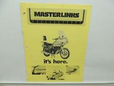 Masterlinks Yamaha Motorcycle Accessories Catalog Price List XS 750-D L11540