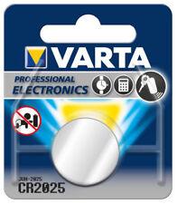 1 BATTERIA CR2025 alta qualità VARTA 3V litio BR2025 KCR2025 5003L DL2025 BR2025