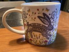 New listing Ulster Weavers' Woodland Hare Straight Sided Mug Rabbit Bunny
