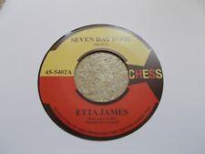 ETTA JAMES / DOUG BANKS SEVEN DAY FOOL / I JUST KEPT ON DANCING 45 NORTHERN SOUL