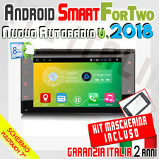 "AUTORADIO 7"" Android 6.0  FullTouch SMART FOR TWO 2007-2010 Bluetooth/Dab/DVD/CD"