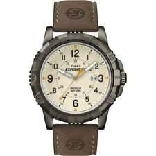 Timex Expedition T49990 Watch 753048525799 Quartz Bracelet Leather