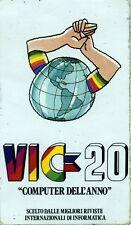 """ADESIVO/STICKER * VIC-20 """" COMPUTER DELL'ANNO """" SCELTO DALLE MIGLIORI RIVISTE *"""