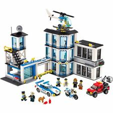LEGO City Police Station 60141 Cool Toy For Kids 7 mini people three levels helo