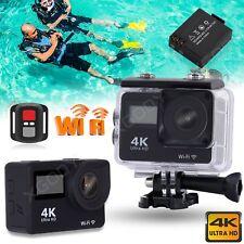 WIFI Ultra HD 4K 2'' LCD Helmkamera Sport Camera Action Cam Wasserdicht Video DV
