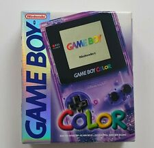 GAMEBOY COLOR Konsole CIB OVP Atomic Purple - NEUZUSTAND - SNES N64 NES
