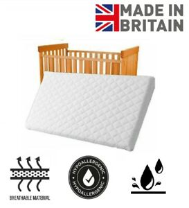 Baby Cot Bed Mattress Quilted Waterproof Toddler Matress Thick Foam All Sizes