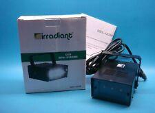 (1) IRRADIANT SSDL-1203W 3W MINI LED STROBE LIGHT 120V HIGH POWER WHITE
