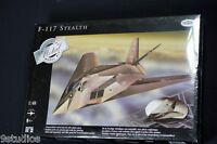Testors F117A Stealth Airplane 1:48 Scale Diecast Metal Model Kit NEW