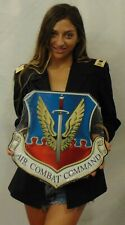 """Air Force Air Combat Command All Metal Sign 16 x 16"""" See Video"""