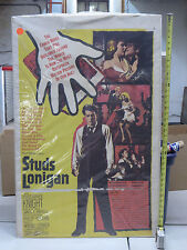 Studs Lonigan (1960) US Theatrical one Sheet 27x40 Fair Farrel's trilogy adapted