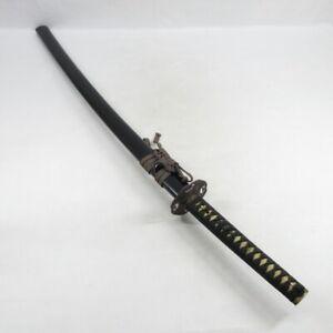 E0086: Real old KOSHIRAE for Japanese long swords KATANA with good ornaments