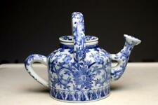 Antique Chinese Tea Pot Porcelain  Qing Kangxi