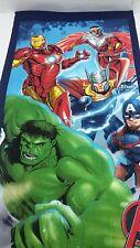 Telo Mare o piscina Avengers Marvel di spugna di Cotone 70x140 cm. A603