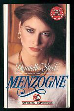 STEEL DANIELLE MENZOGNE SPERLING PAPERBACK 1992 SUPERBESTSELLER 59
