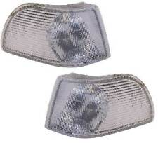Volvo C70 Coupe & Cabrio 1997-2006 Clear Front Indicator Pair Left & Right
