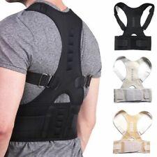 Magnetic Posture Corrector Back Lumbar Shoulder Support Adjustable Belt Brace