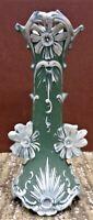 Vintage/Antique Wedgewood Style Bud Vase With Floral Decoration - Nice